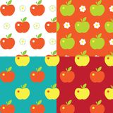 Appel pattern Stock Photography