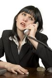 Appel téléphonique images stock