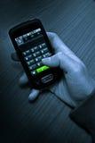 Appel téléphonique Photos libres de droits