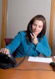 Appel téléphonique photo stock