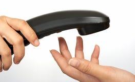 Appel téléphonique Photo libre de droits