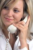 Appel téléphonique Photographie stock