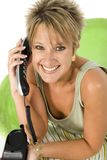 Appel téléphonique Images libres de droits