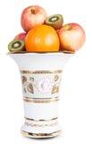 Appel van de fruit de oranje kiwi Stock Afbeelding