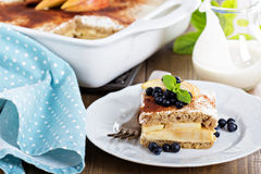 Appele wholewheat bread strata Royalty Free Stock Photos
