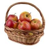 appelen in de mand royalty-vrije stock fotografie
