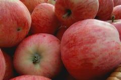 Appelen in een mand Royalty-vrije Stock Fotografie
