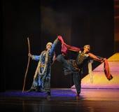 Appelez-le lune égarée-Hui de ballet au-dessus de Helan Photo libre de droits