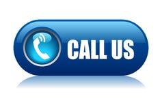 Appelez-nous bouton Image libre de droits