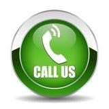 Appelez-nous bouton Image stock