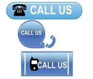 Appelez-nous bouton illustration libre de droits