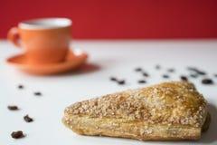 Appelflap, tarte de maçã, petisco doce típico dos Países Baixos foto de stock