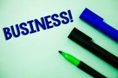 Appell för affär för handskrifttexthandstil Company Ideas för entreprenör för ockupation för specialitet för arbete för begreppsb royaltyfri bild
