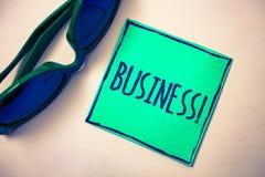 Appell för affär för ordhandstiltext Affärsidé för Company Green för entreprenör för ockupation för handelarbetsspecialitet föret royaltyfria bilder