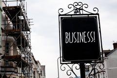 Appell för affär för ordhandstiltext Affärsidé för Company Vintage för entreprenör för ockupation för handelarbetsspecialitet för Royaltyfria Bilder