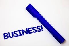 Appell för handskrifttextaffär För Company Ideas för entreprenör för ockupation för specialitet för arbete för begreppsbetydelseh royaltyfria bilder