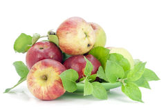 Appels grown without fertilizers Royalty Free Stock Photography