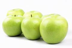 Appels verdes Imagens de Stock
