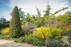 Appeltern Gardens in the Netherlands is an opportunity to meet f. Resh and creative ideas in the field of garden design Royalty Free Stock Photography