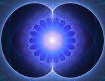 Appelvormige fractal Stock Fotografie