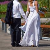 Appena coppia sposata Immagine Stock Libera da Diritti
