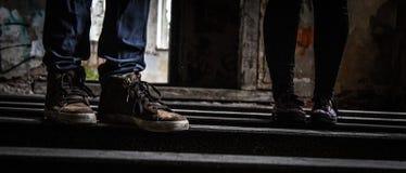 Appena i piedi Fotografie Stock Libere da Diritti