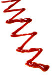 Appena ketchup Immagini Stock