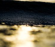 Appena me e l'oceano Immagini Stock Libere da Diritti