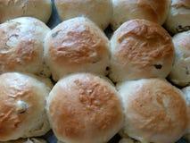 Appena primo piano casalingo al forno dei muffin Immagine Stock Libera da Diritti