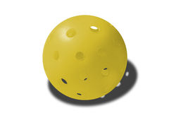 Appena Yello Pickleball Fotografia Stock