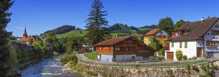 Appenzell landscape, Switzerland Royalty Free Stock Photos