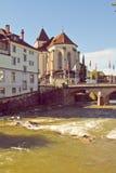Appenzell-Stadt Lizenzfreie Stockfotografie