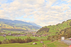 Appenzell town Stock Photography