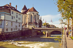Appenzell town Royalty Free Stock Images