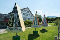 Appenzeller-Käsefabrik-Besuchermitte Stockbild