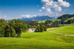 Appenzellerland, Швейцария Стоковая Фотография
