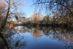 Apperley pools Stock Images