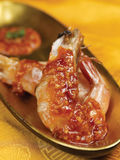 appertizer τηγανισμένες γαρίδες Στοκ εικόνες με δικαίωμα ελεύθερης χρήσης