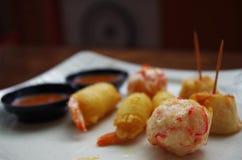Appetisers на Сингапуре стоковые изображения