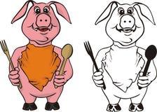Appetit del Bon! Illustrazione di Stock