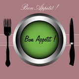 Appetit do Bon Imagem de Stock