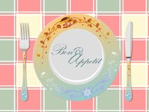 Appetit do Bon fotos de stock royalty free