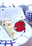 Appetit do Bon, meu amor! Fotos de Stock Royalty Free