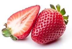 Appetitanregende Erdbeere. stockbild