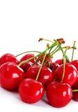 Appetitanregende rote Kirschen Lizenzfreies Stockbild