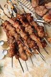 Appetitanregendes shish kebab Lizenzfreie Stockfotografie