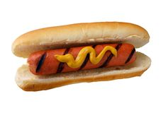 Appetite hot dog Stock Photos