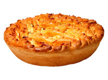 Appetite pie. Appetite hot pie.  Aromatic fragrant pastries Royalty Free Stock Photography