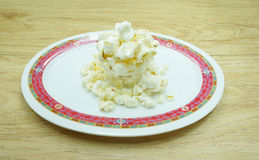Appetize popcorn Royalty Free Stock Images