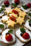 Gourmet appetizer royalty free stock image